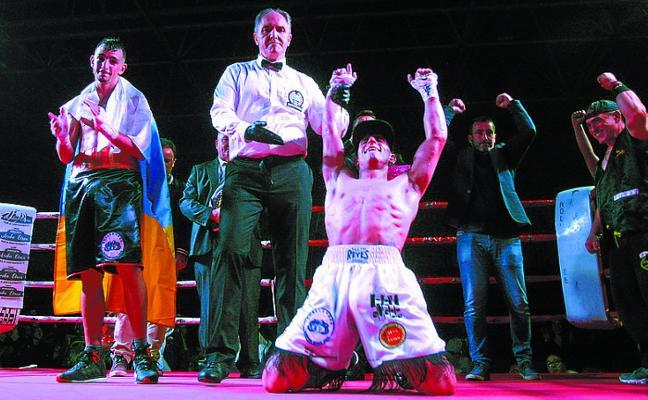 'Látigo' Pérez: «Ser campeón estatal y europeo supone un orgullo muy grande»