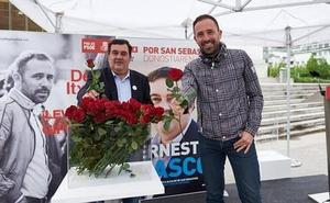 Itxaso y Gasco, oficialmente candidatos del PSE a diputado general de Gipuzkoa y a alcalde de San Sebastián