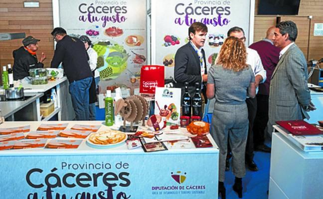 Cáceres expone sus mejores productos