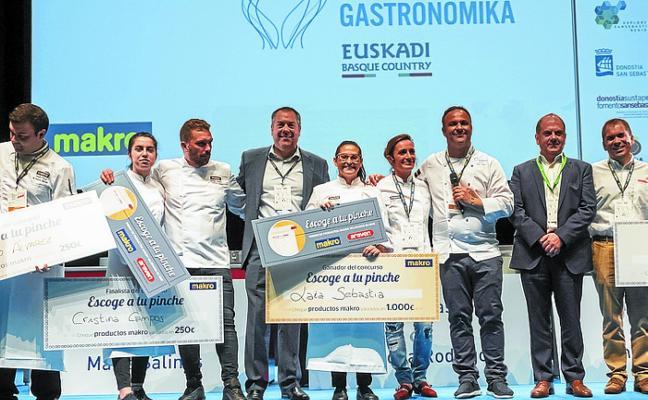 Laia Sebastiá gana el concurso 'Escoge tu pinche' de Makro