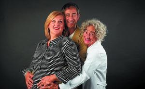 La comedia 'Salir de cuentas a los 50' llega este sábado al Amaia