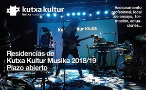 Abierto el plazo para las residencias de Kutxa Kultur Musika