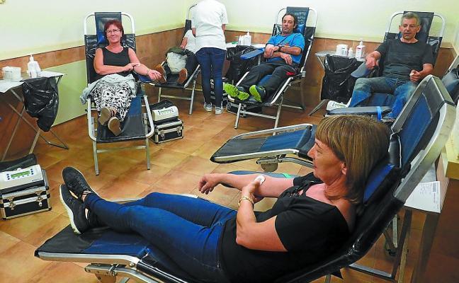 Veinte elgoibartarras recibirán la insignia de Donantes de Sangre