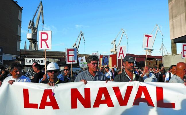 La Naval inicia el proceso de despido de sus 200 empleados tras un año parada