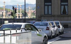 Gipuzkoa apoyará al sector del taxi y frenará a Uber y Cabify