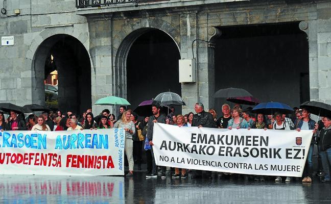Andoain sigue firme en la condena contra las agresiones sexistas