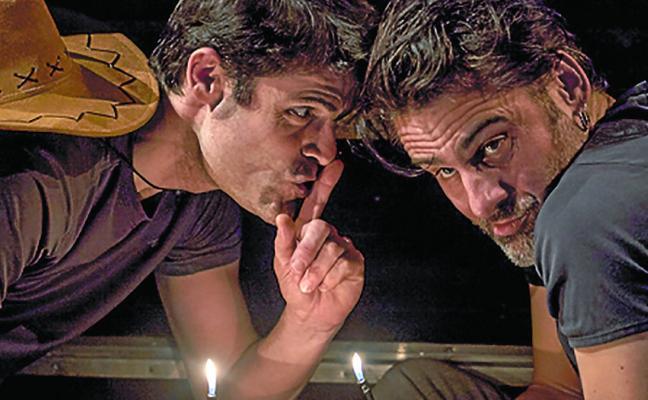 La obra de teatro 'Zazpi senideko' se representa el domingo en Irurita