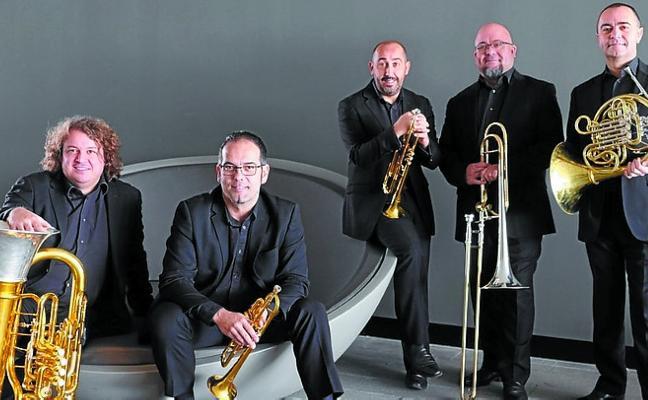 Spanish Brass actuará mañana en Soreasu dentro de la II edición de Metaltop