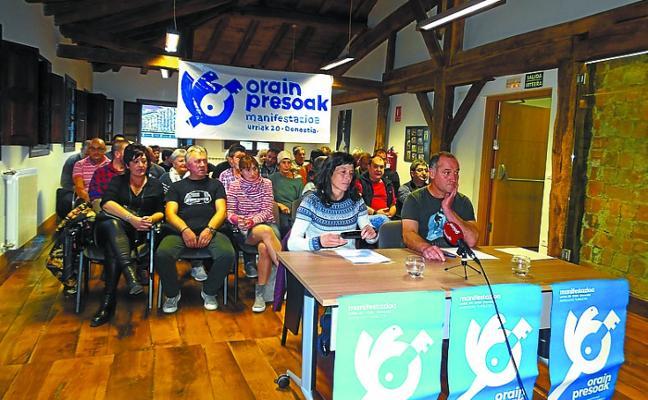La plataforma Orain presoak, contra la excepcionalidad que se aplica al colectivo