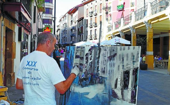El XXVII certamen de pintura al aire libre es este domingo