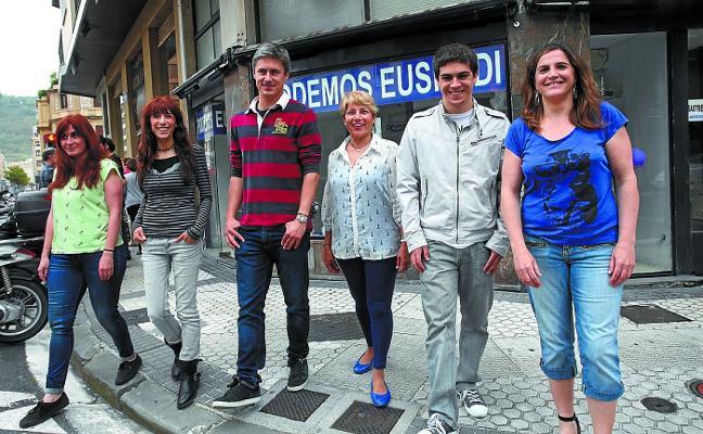 Los acusados de Podemos contraatacan y denuncian a la líder de Gipuzkoa
