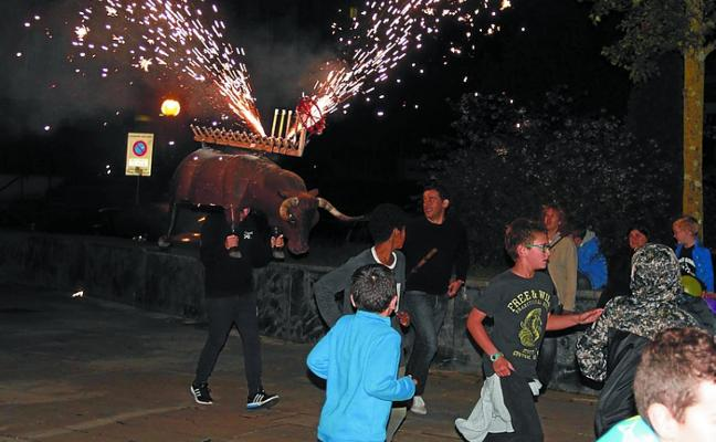El barrio de Sasoeta vivirá durante el fin de semana sus interesantes fiestas