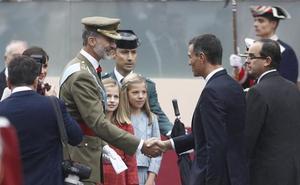 Sánchez: «No voy a ser menos que Zapatero o González»
