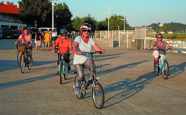 Nunca es tarde para aprender a andar en bici