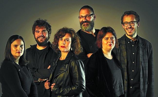 Itziar Urbieta y Jose Luis Franzesena actuarán junto al grupo vocal Kbeat, mañana, en Loiola