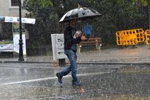 Las fuertes lluvias llegan a Gipuzkoa