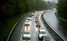 Retenciones kilométricas en la AP8