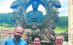 Las fuentes de Oñati, motivo del concurso de selfies para fomentar el consumo de agua del grifo