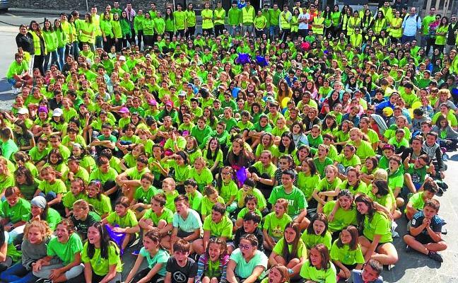 Un encuentro divertido con 450 participantes