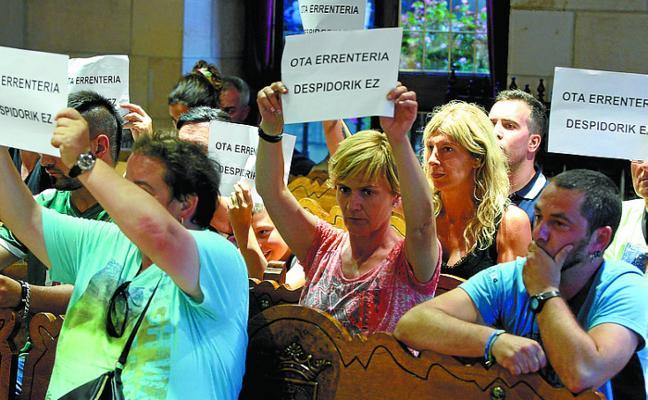 El PSE-EE califica de «incomprensible» que el Ayuntamiento «no cumpla con las sentencias»