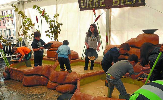 Parque infantil y rally fotográfico en torno a la semana de mineralogía
