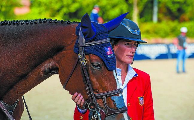 Jessica Springsteen (Jinete): «Tengo mucho más talento con los caballos que con la música»