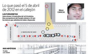 Los seis ertzainas procesados del caso Cabacas se enfrentan a un total de 24 años de cárcel