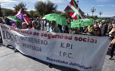 Los pensionistas vascos ven positivo pero no suficiente que el salario mínimo suba a 900 euros