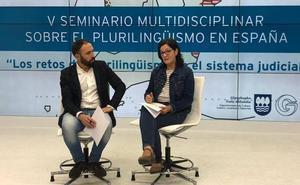 «Hizkuntza eskubideak errespetatzea oinarrizkoa da justiziaren eremuan»