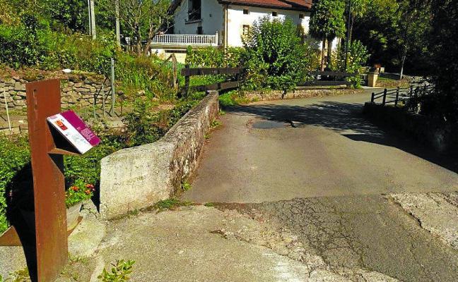 El Ayuntamiento reformará el puente de Guriditegi «de forma urgente»