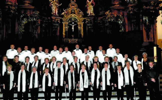 San Joxepe Abesbatza y Basotxo, hoy, en concierto en Seminarixoa