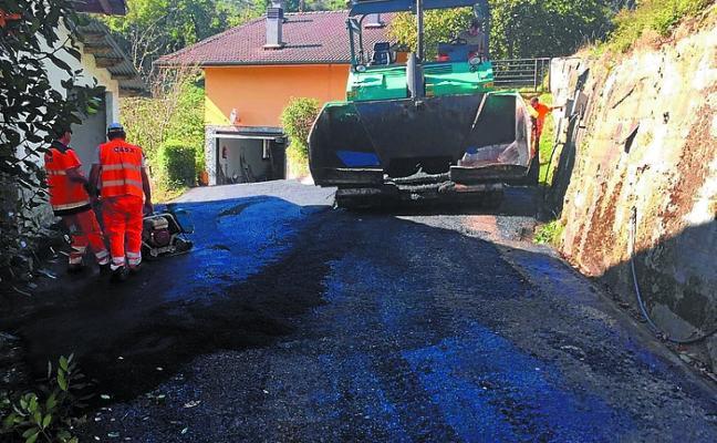 Finalizan los trabajos de reparación del camino rural al caserío Salsamendi