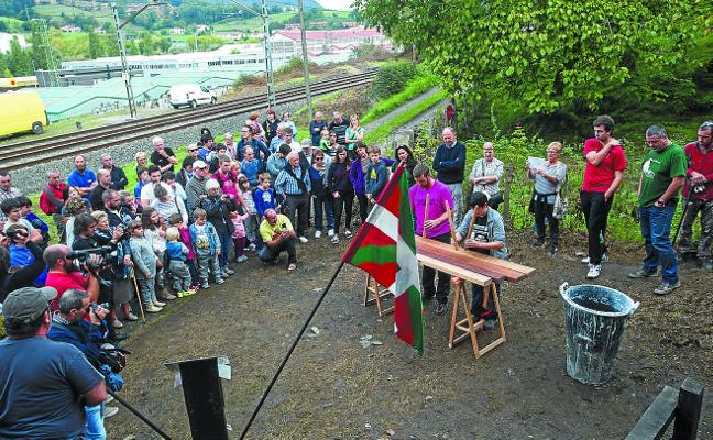 Burdina Taldea se prepara para encender el karobi de Ortzaika