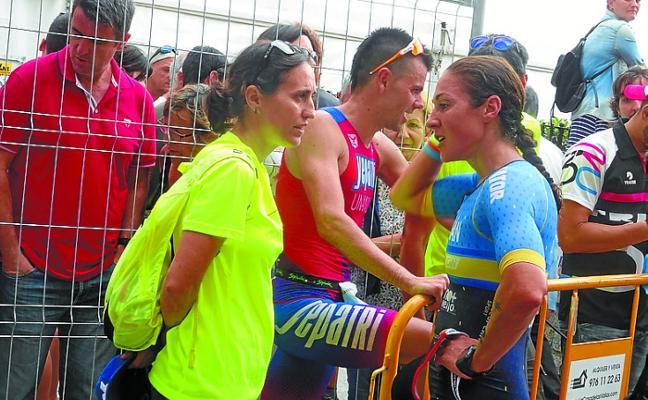 Tras dos años en el dique seco, Ainhoa Murua ha vuelto a competir en Santander