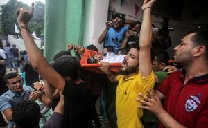 Un palestino muerto en una nueva escalada de tensión en Gaza