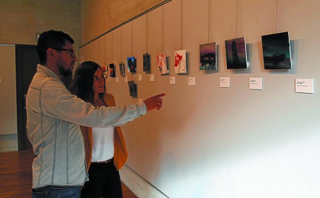 Arma Plaza acoge desde hoy la exposición 'Arte en 18 cm'
