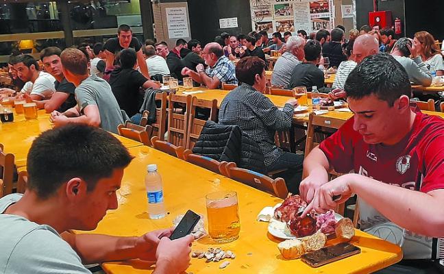Iraurgi Saskibaloia abrirá la feria de la cerveza por segundo fin de semana consecutivo