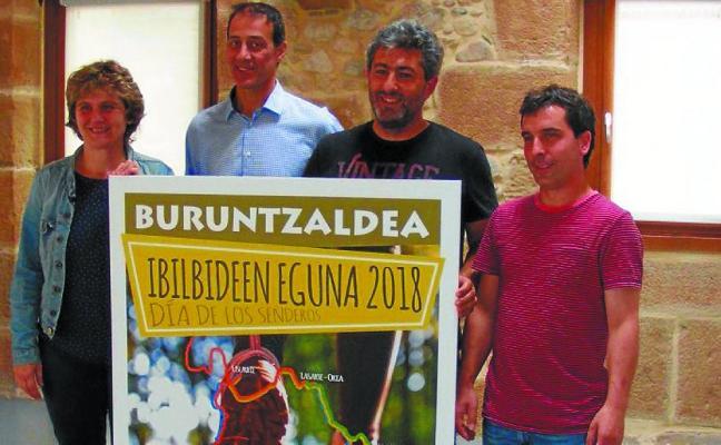 El domingo llega la undécima edición del Día de los Senderos de Buruntzaldea