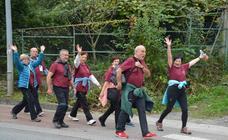 Los jubilados guipuzcoanos se van de marcha