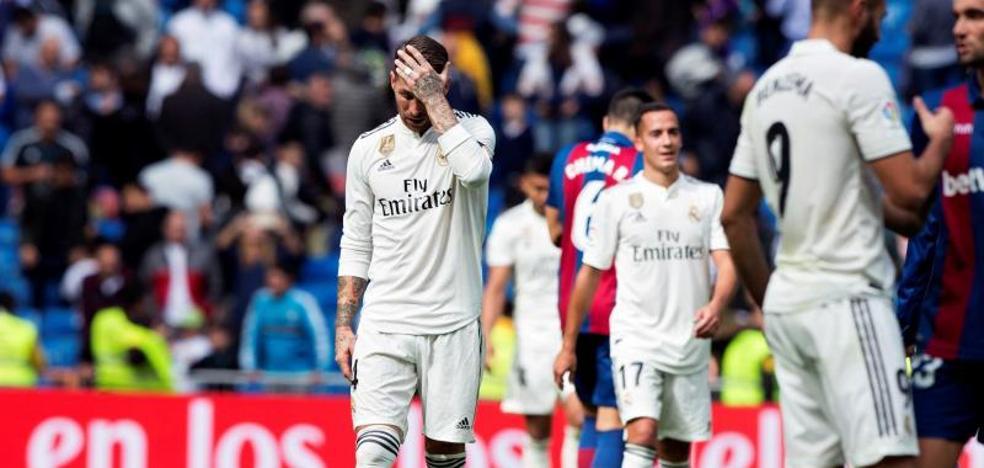El Real Madrid se desintegra