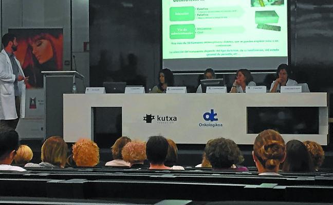 La Jornada de Estética Oncológica reúne en Zarautz a más de cien profesionales
