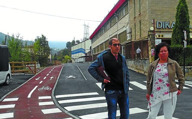 Con el bidegorri de Urarte al cruce de San Blas se suman 12,2 kilómetros