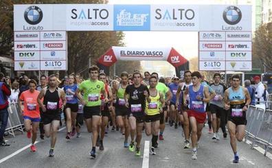 Eneko Agirrezabal y Maite Arraiza, campeones de la Clásica de 15km de San Sebastián