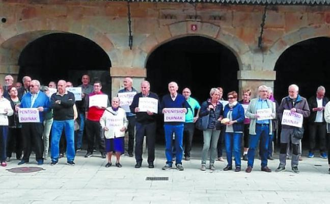 Los pensionistas vascos continúan con las movilizaciones