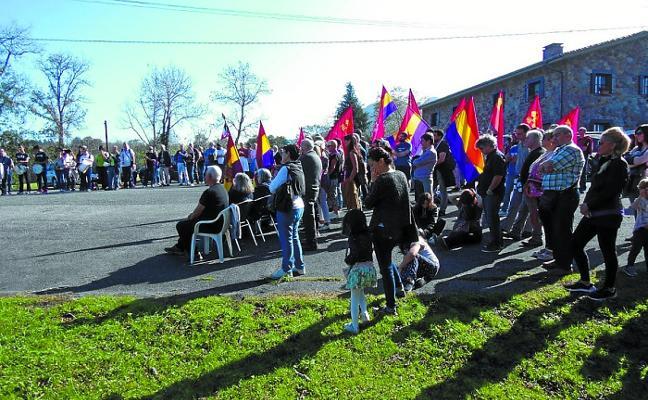 La Asociacion Republicana Irunesa rindió homenaje a los fusilados en Pikoketa