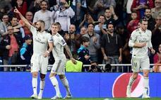 Benzema se hace hueco como leyenda goleadora