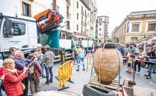 Gordailua ofrece visitas guiadas para mostrar las dos tinajas del siglo XVI halladas en San Sebastián