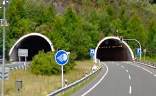 La A-15 se cerrará en ambas direcciones entre Andoain y Berastegi este fin de semana por las obras en el túnel de San Lorenzo