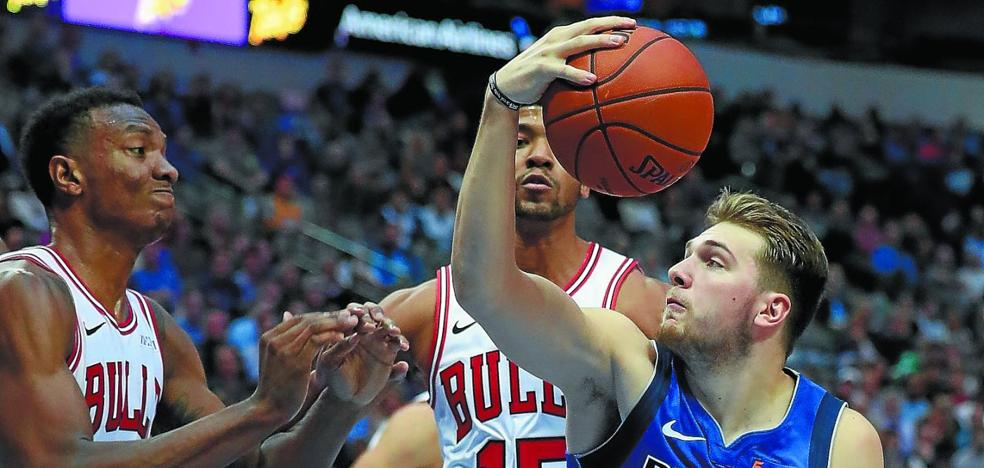 Luka Doncic fascina a la NBA