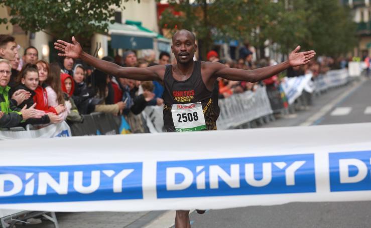 Ezequiel Kipyego campeón del Medio Maratón de Donibane-Hondarribia